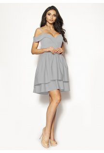 49707962d0ec Efektowna rozkloszowana sukienka mini Model  KM-3016