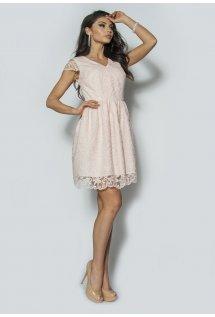 b4ab04f1d88b Elagancka sukienka z gipiury Model  IP-3011
