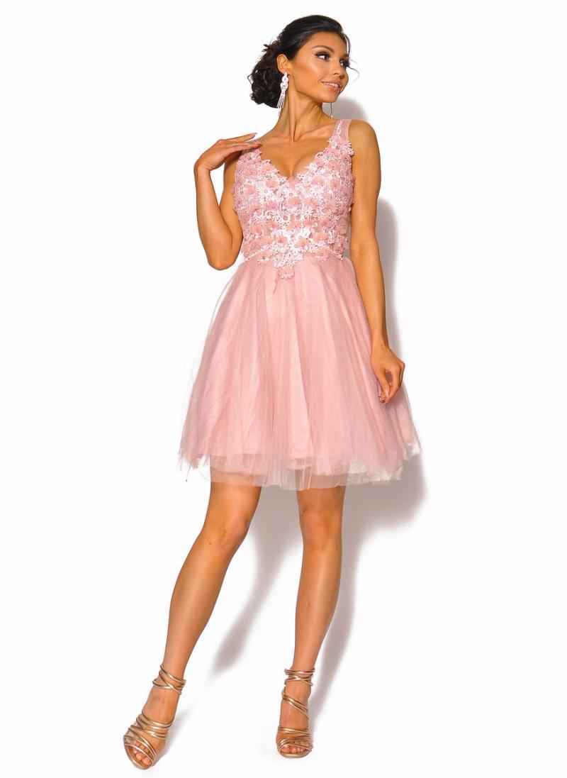 bf57c3ba87 Rozkloszowana sukienka mini Model IP-4042  295.00zł  - Mini ...