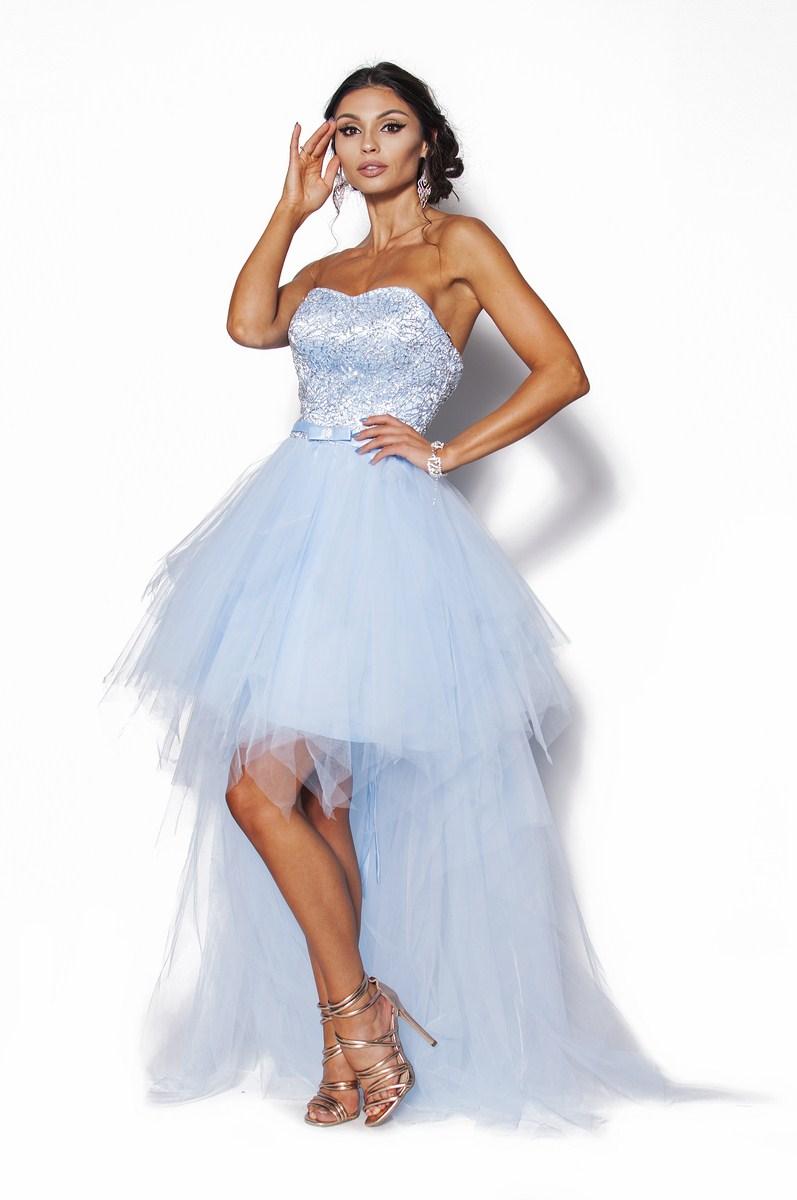 eb185e0898 Ekskluzywna sukienka z trenem Model  PW-3420  445.00zł  - Maxi ...