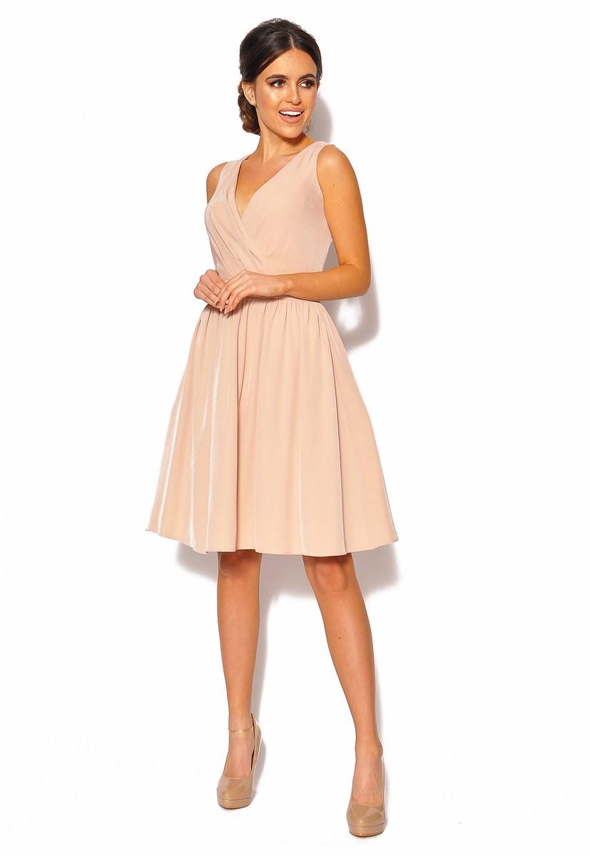 c15b8481 SukienkiMM.pl: Sukienka z kopertowym dekoltem Model: KM-3964