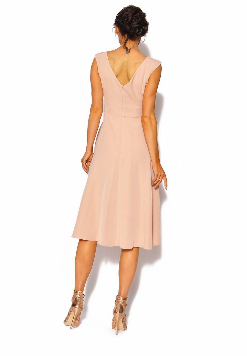 e08942c9 Delikatna sukienka midi Model: KM-4000