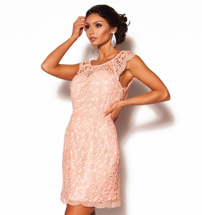 7459915ab5 Sukienka koronkowa Model PW2454  319.00zł  - Mini   Sukienki - Sklep ...